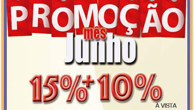 15% + 10% à vista ou 10% parcelado. Frete Grátis para todo o Brasil, Confira!